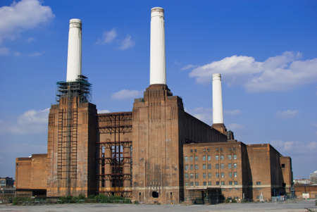 pink floyd: Battersea Power Station Editorial