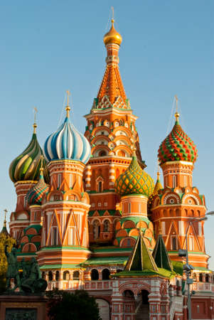 St. Basils Cathedral, Red Square, Moscow photo