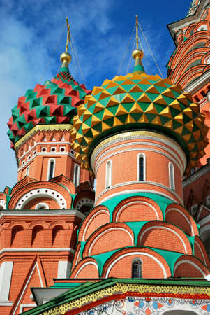 st basil s cathedral: St  Basil s Cathedral, Moscow Stock Photo