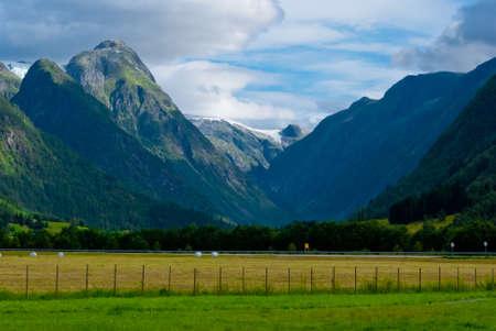Superbe paysage norv�gien
