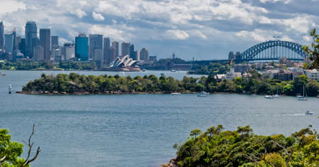 Sydney Harbour panoramic view
