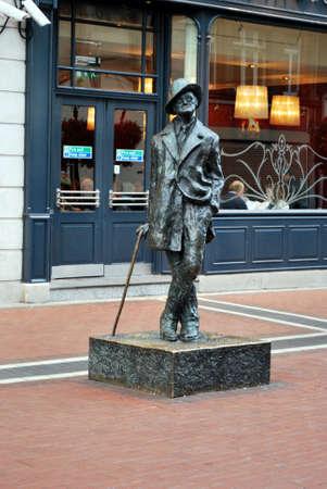 James Joyce monument, Dublin Stock Photo - 13761030