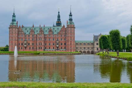 Hillerod Castle, Denmark Stock Photo