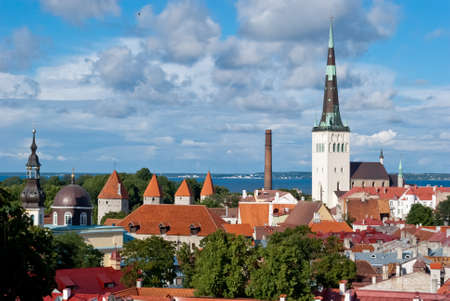 Tallinn city view photo