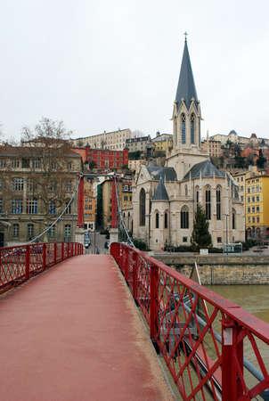 Old town, Lyon, France
