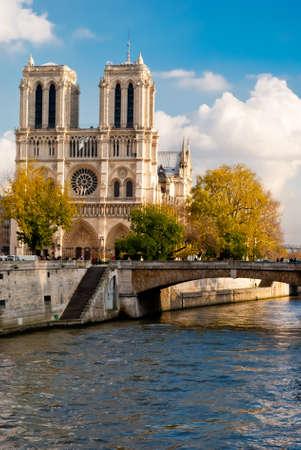 Notre-Dame, Paris Banque d'images