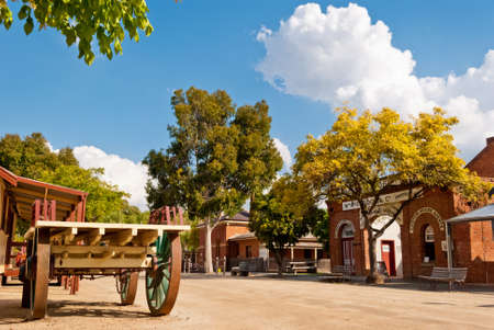 Historic Port, Echuca, Victoria, Australia photo