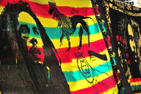 Bob Marley drapeau