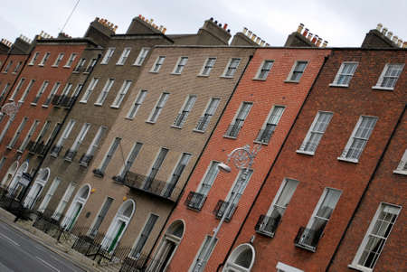 Georgian Dublin architecture Stock Photo - 13916710