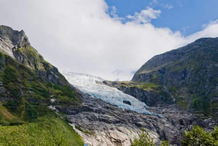 atilde: Boyabreen  Boyabreen  Glacier, Norway Stock Photo