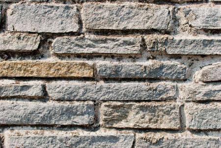strong base: Brick muro di pietra Archivio Fotografico