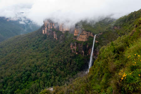 Waterfall in Blue Mountains National Park, NSW, Australia Stock Photo - 14705108