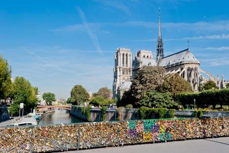 Notre Dame, Paris, view from Pont de l archeveche