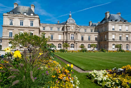 Luxembourg Palace and gardens, Paris