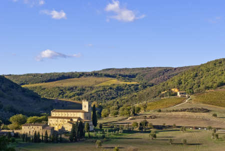 Abbey of Sant Antimo Stock Photo - 16281713