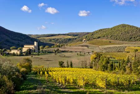 Abbey of Sant'Antimo, Tuscany, Italy Stock Photo - 16281793