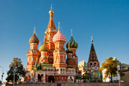 st: St. Basil Cathedral, Red Square, Moscow Editorial