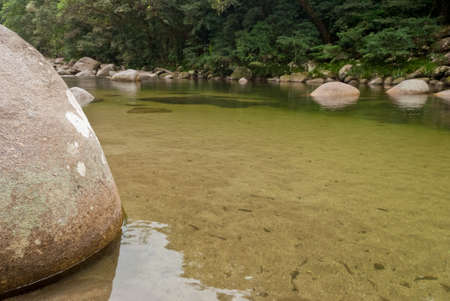 Mossman Gorge, Daintree National Park, Australia photo