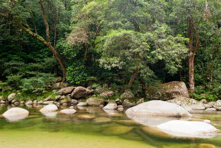 Mossman Gorge, Daintree National Park, Australia Stock Photo - 16970402