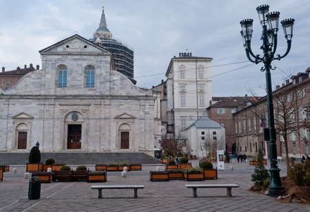 Turin Cathedral Stock Photo - 17147391