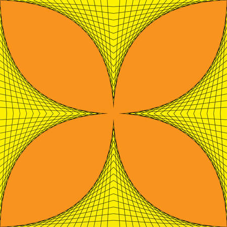 Geometric four-leaved clover Stock Photo - 17468896
