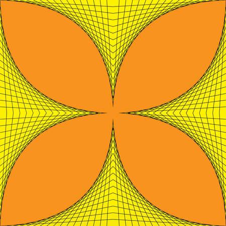 fourleaved: Geometric four-leaved clover