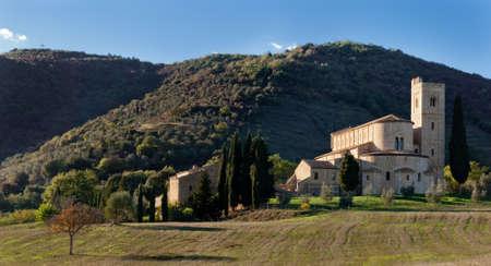Abbey of SantAntimo, Tuscany, Italy