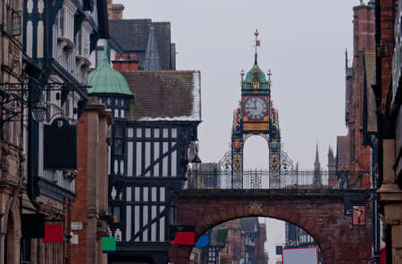 chester: Eastgate Clock, Chester, England