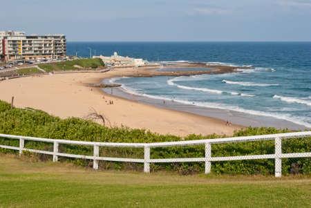 Newcastle plage, NSW, Australie