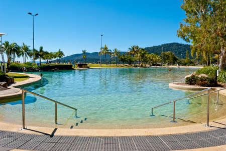 Airlie beach waterfront, Queensland, Australia Stock Photo