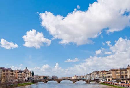 arno: Florence, panorama on the Arno river