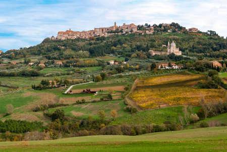 Montepulciano, Tuscany, Italy Stock Photo - 19059156