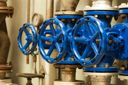 Les boutons de commande pour conduites d'eau