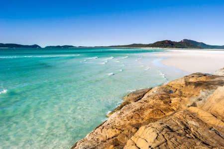 whitsundays: Paradise beach (Whitsunday Islands, Australia) Stock Photo