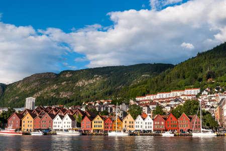 Bergen, Norv?ge Banque d'images