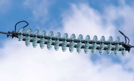 conduction: Electrical insulators string