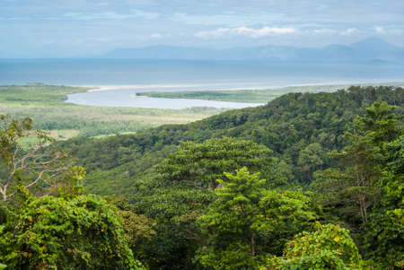 tribulation: Daintree National Park, Cape Tribulation, Australia Stock Photo
