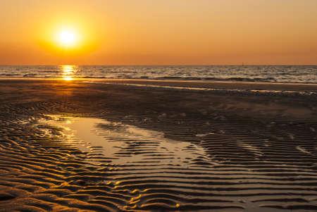 Darwin, coucher de soleil � la plage de Mindil
