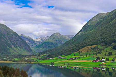 Norway, amazing landscape photo