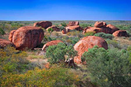 悪魔のビー玉、オーストラリアのノーザン テリトリー