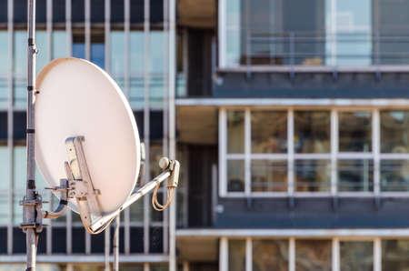 antena parabolica: Parab�lica para TV