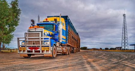 Road train, Australia photo