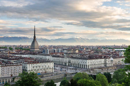 Turin  Torino , high definition panorama