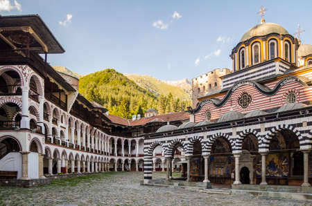 Rila Monastery, Bulgaria Stock Photo