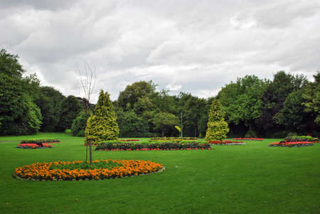 public park: Dubl�n, parque p�blico parque de St Stephen