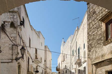 puglia: Ostuni, Puglia (Italy) Stock Photo