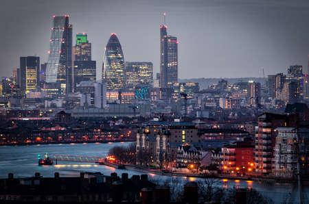 Ville de Londres.  Banque d'images