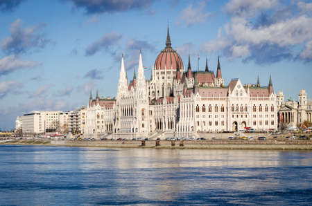 Budapest, Hungarian Parliament and Danube photo