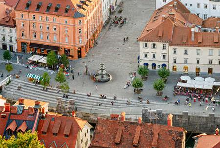 Ljubljana, Slovenia Reklamní fotografie