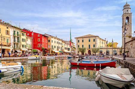 garda: Lazise, ???? Lake Garda, Italy Stock Photo